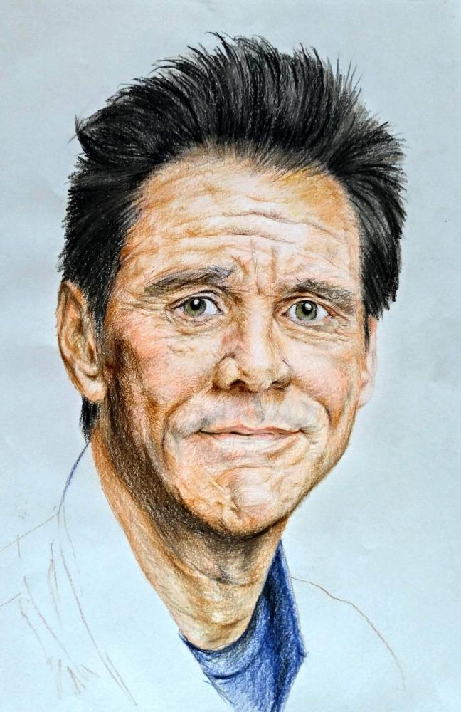 Jim Carrey by linshyhchyang